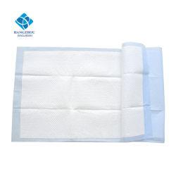 protector disponible absorbente estupendo del colchón de la tela no tejida del algodón de los 60*150cm