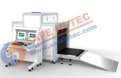 100*80cm de equipaje seguridad Detector de rayos X de cribado de análisis de la máquina de inspección de SA10080