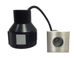 Sepultado LED acende o LED de exterior IP67 Luz de Aterramento da Luz de Metro Rebaixada