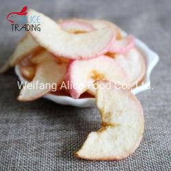 Les Puces Apple frit vide de la santé Snack séchés Cert casher Apple