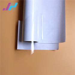PVC 광택 화이트 백킹 콜드 라미네이션 필름으로 그래픽 보호
