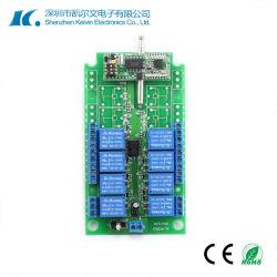 433MHz RF universal de 8 canais personalizados de Longa Distância Interruptor de Iluminação Controlador Remoto