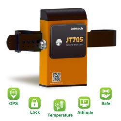 Suivi des conteneurs à puce avec mot de passe de verrouillage et déverrouillage par le logiciel Bluetooth