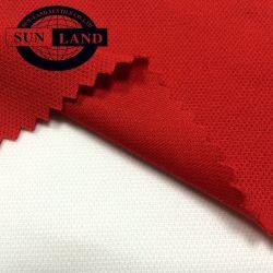 Suministro de la fábrica de China la trama tejida de polipropileno de poliéster de Ajustar en seco de una manera el efecto mecha Pique tejido Sportswear