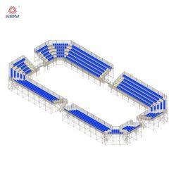 Stadion-Zuschauertribüne-verwendeten Innengymnastik-Zuschauertribünen Zuschauertribünen für Verkaufs-Fußball-Kugel-Spiel-Zuschauertribünen