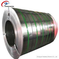 Fente d'acier galvanisé bobine/galvanisées bande de métal pour les matériaux de construction
