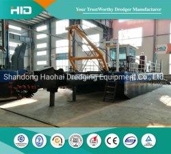 Sand-Bagger VERSTECKTE Scherblock-Absaugung-Bagger-Minibagger-ausbaggernden Geräten-Bergbau-Behälter/Lieferung/Boot/Lastkahn für Verkauf
