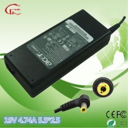 エイサーまたはAsus/HP/DELL/Ls/Gateway/Samsung/DELL 19V 4.74A 90WのデスクトップのラップトップACアダプターのラップトップのアダプター