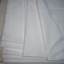 T/C 65/35 18X18, 60X60 280см обычный белый цвет всей ткани на складе большое количество закрытых кромки