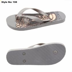 Fashion Silk Screen Pe Dames Fashion Slippers