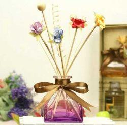 Bottiglia/vaso in vetro artigianale di colore diverso