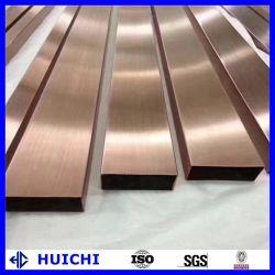 Material de construção isolamento 3 Polegada 201/304/316L/310S do Tubo de Aço Inoxidável em metal