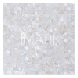 Venda por grosso Mãe de Pearl Mosaico Shell Mosaico painel contra salpicos