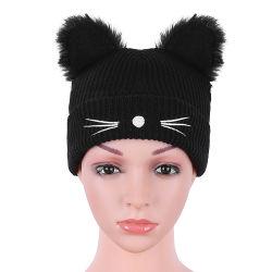 Commerce de gros tricot jacquard hiver personnalisé nouveau Beanie Hat pour 2018