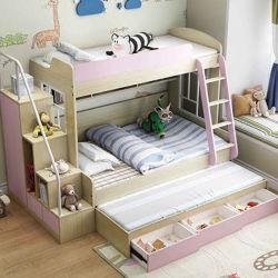 Эргономичная дерева Loft двухъярусные кровати Лофт общежития устанавливает