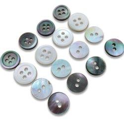 Усовершенствованная Agoya природных реального сс Прозрачные кнопки оболочки, белая рубашка кнопок, женских Пуловер из Вязаная кофта, иска кнопки оболочки Nk4004