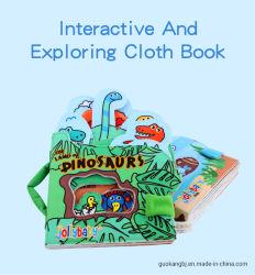 Jollybaby детей' S Главная новый задний фонарь главная книга мягкой тканью книги книги детям книги интерактивный и изучение тканью адресной книги