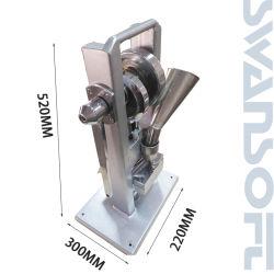 Swansoft 수동 단 하나 펀치 정제 압박 사탕 설탕 압박 기계/(가장 가벼운 유형) Tdp-0 /Hand-Operated/Mini 유형 20kg