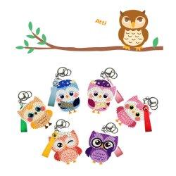 Met de hand gemaakte Ambacht van het Speelgoed van de Jonge geitjes van de Sleutelring DIY van het Stuk speelgoed van de bevordering de Onderwijs Dierlijke