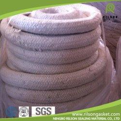 De fibra cerámica trenzado Ronda/cuadrado/torcida cuerda para juntas de estanqueidad