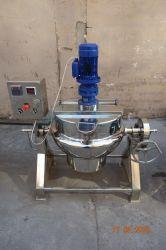 믹서 (ACE-JCG-2A) 없는 200L 전기 난방 산업 요리 팬