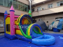Populaire utilisé des saut gonflable Bouncer Diapositive gonflable avec piscine