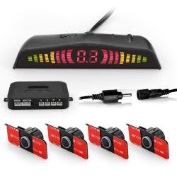 2018 ökonomischer bunter LED-Bildschirmanzeige-Parken-Fühler 4 Soem-Fühler mit Tonsignal-Stimme