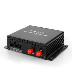 De Tuner DVB mpeg-4 van TV van de auto het Dubbele Werk van de Doos van TV van de Ontvanger van de Doos van TV van de Antenne Digitale Mini in Europa, het Midden-Oosten, Australië