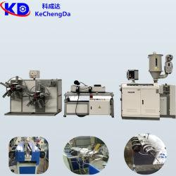 Le plastique PVC/PP à paroi simple tuyau de tôle ondulée/ondulation tube/Ligne de production d'Extrusion de flexible