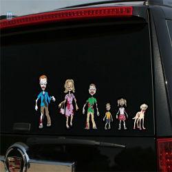 Impermeable a todo color de la familia adhesivos calcomanías coche