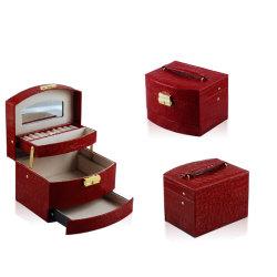 金の宝石類のロッカーのドレッサーのオルガナイザーの宝石類の箱(5476R6)
