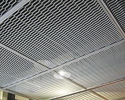 Grid de productos de aluminio en el techo abierto decorar baranda de protección completa de productos de aluminio