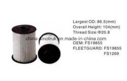 Banheira de venda filtros de água do ar de óleo combustível Fs19855 Fs19579 do Motor Cummins