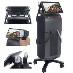 Laser-permanente Haar-Abbau-Sopran-Laser-Haar-Abbau-Maschine des Titan-3wave/1200W für Verkauf