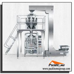 Tête de 10 entièrement automatique peseur Food / Pâtes de fruits secs Sac de remplissage de pesage à fonctionnement La machine à ensacher la ligne de conditionnement d'emballage