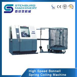 Digitale Controle 80 de Eenheid die van de Lente van Bonnell van het Bed van de Matras PCS/Min/Coiler/Rol//de Machine van de Lente windt maakt rolt