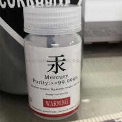 Mercury liquido d'argento metallico 99.999% del metallo per il termometro