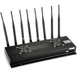 8 هوائيات هاتف محمول مكتبي 2g 3G 4G إشارة jammer/ أداة حظر إشارات WiFi/GPS