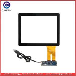 8 de duim maakte de Capacitieve Uitrusting van het Scherm van de Aanraking met de Raad van het Controlemechanisme en Kabel USB
