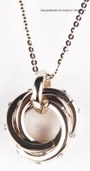 Долго Tassel цепочка золотые тона очаровательный узел Tassel подвесной узел змея цепь для женщин