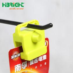 Peg en plastique crochet magnétique s'arrêter le crochet de verrouillage antivol EAS