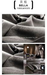 Haut Abrasifs canapé en velours Mohair luxe revêtements tissu meubles