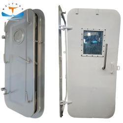 Пользовательские АБС CCS A60 огнеупорные сталь/алюминиевый морской непроницаемость при непогоде Двери водонепроницаемых дверей для судов