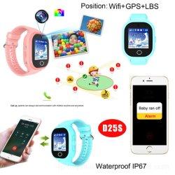 핫 셀링 GSM IP67 방수 어린이 GPS 추적기 스마트 워치 Super Power-Saving D25S