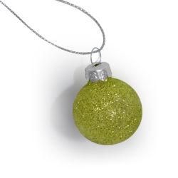 [متّ] تلألؤ نوع ذهب صغيرة يزيّن عيد ميلاد المسيح زجاجيّة كرات لأنّ [شريستمس] زخرفة