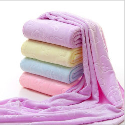 Formato padrão de tintura 100%Material Algodão toalha de rosto toalha de mão
