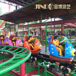 O Parque Temático Roller Coaster para Adultos/Crianças Pequenas Coaster Viagem de Diversões
