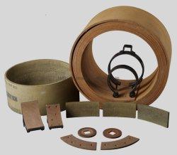 China Venta caliente de resina de tejido de forros de freno rollo, Talfri TL2003