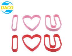 Heiße Plastikplätzchen-Formen des Verkaufs-3PC stellten für Küche-Tischbesteck ein