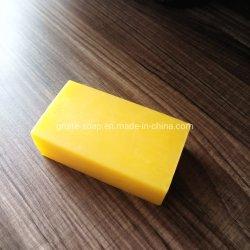 Amarela transparente os detergentes sabão em barra